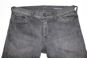 Coole Jeans in verwaschenen Schwarz, Gr. 27/34