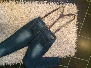 Coole Jeans mit Hosenträgern Gr 29/32
