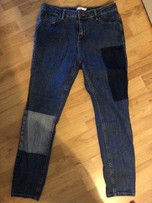 Jake*s Jeans a vita alta blu-blu scuro