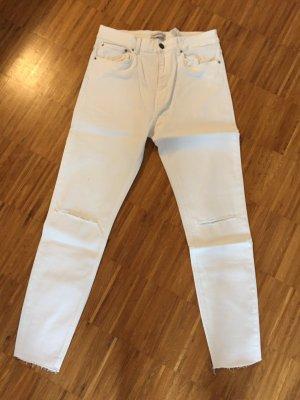 Coole Jeans mit Rissen am Knie, neu, Zara, Gr 42
