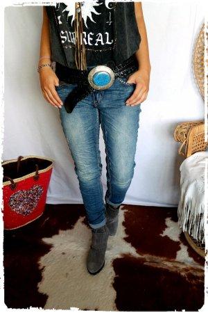 Coole Jeans SLUIZ mit Nietenstern passt Gr.S