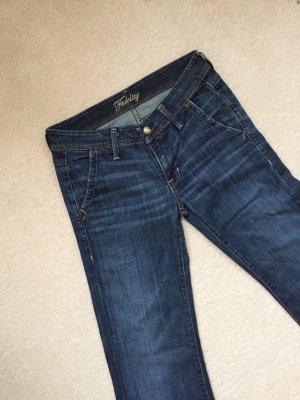 Fidelity Jeans marlene blu scuro