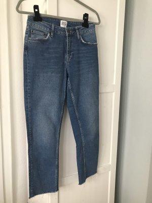 BDG Jeans met rechte pijpen blauw
