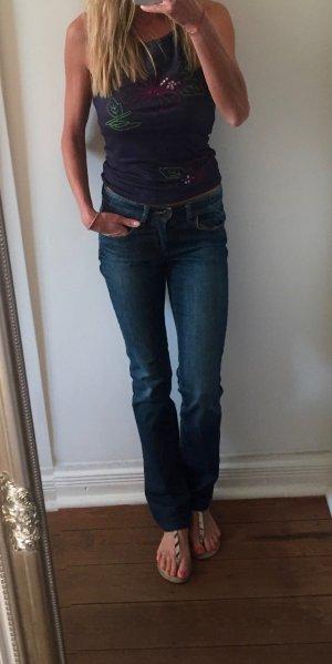 Pepe Jeans London Vaquero rectos azul oscuro