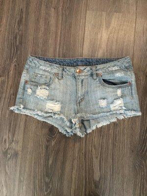 Coole Jeanshotpants!