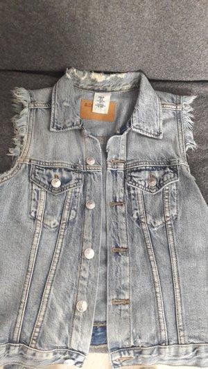 Coole Jeansweste im used Look