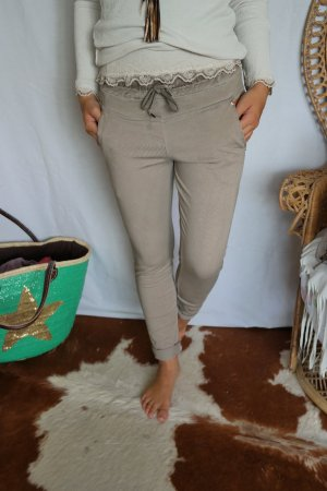 Coole Jeggings in beige onesize passt S bis L