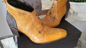 Coole Jo Ghost Stiefelette Luxus Leder Nieten NP 409,00 €
