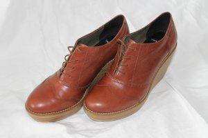 Coole Keil-Plateau Ankle Boots