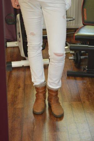 Rieker Chelsea laarzen lichtbruin-bruin