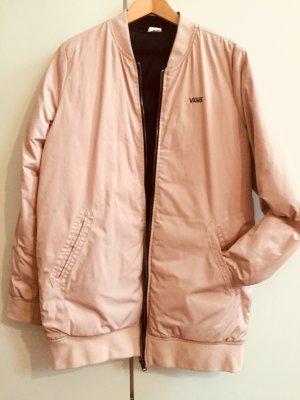 Vans Giacca bomber nero-rosa pallido