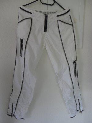 Coole, lässige weiße Hose in Gr. S