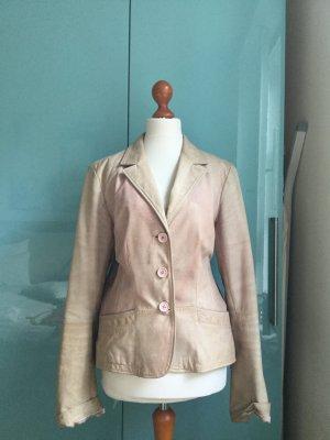 Coole Leder Jacke Antik Style