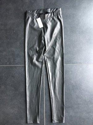 Coole Lederimitat leggings von calzedonia