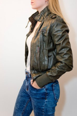 Leather Jacket multicolored