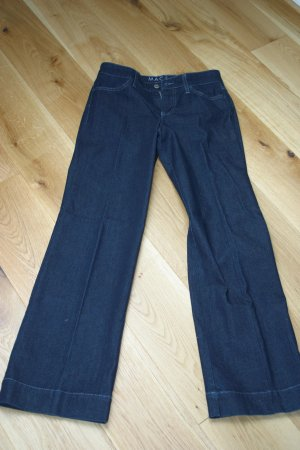 Coole MAC Jeans Schlaghose mit Bundfalte in Gr. 34