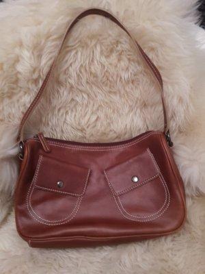 Coole Marc O´Polo Ledertasche Handtasche braun Schultertasche