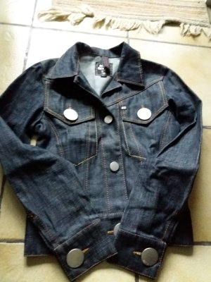 coole miss sixty jeansjacke dunkelblau, s