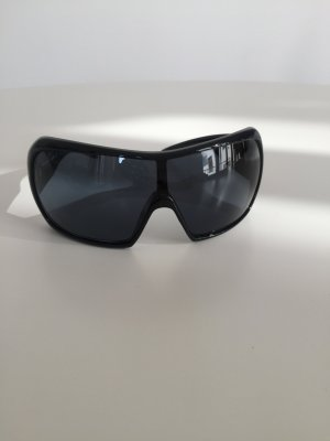 Miu Miu Occhiale da sole nero-argento