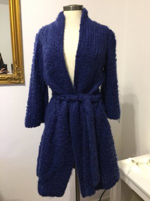 Strenesse Manteau court bleu foncé-bleu