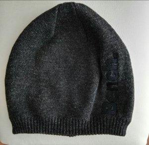 coole Mütze von bench grau schwarz