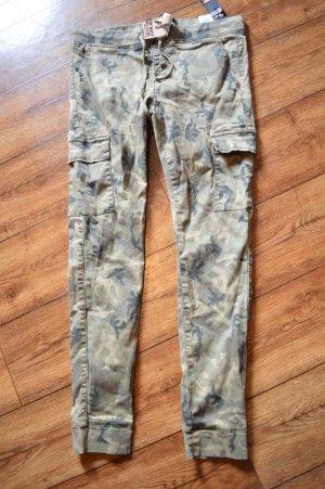 Tally Weijl Cargo Pants khaki-beige
