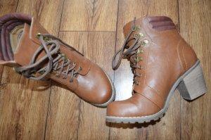 Coole Neue Pimkie Stieflette/Boots in Rehbraun