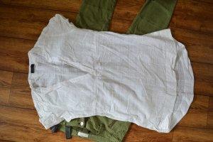 Coole Neue weisse Long Bluse Gr. 42 von Vero Moda