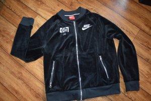 Nike Giacca sport nero-bianco