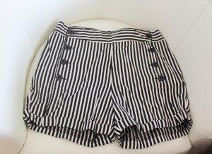 Nümph Shorts white-black cotton