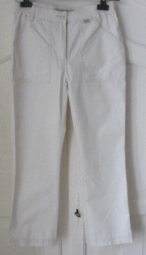 7/8 Length Trousers oatmeal cotton