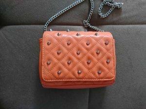 Coole orangene Abendtasche