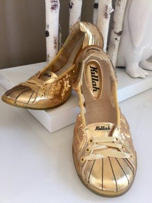 Opbouwbare ballerina's goud