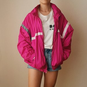 Oversized Jacket pink-neon pink