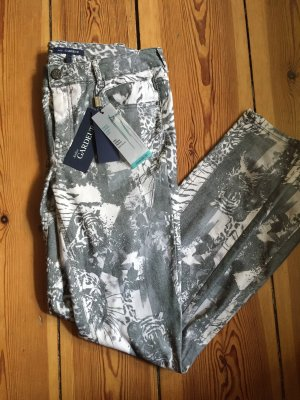 Atelier Gardeur Slim jeans wit-grijs