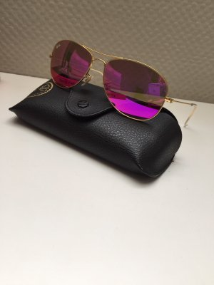 Ray Ban Bril goud-roze