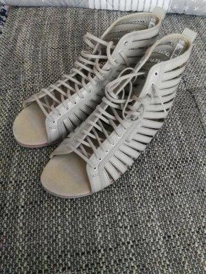 Adidas Sandalias romanas gris claro