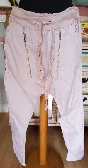 Made in Italy Boyfriend Trousers light pink