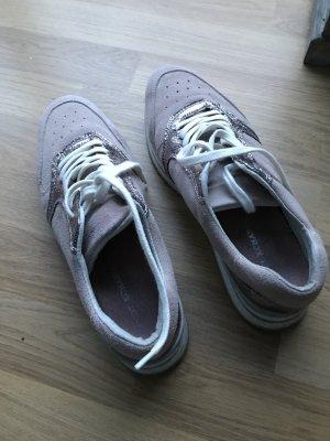 Coole Rose Sneaker 41 Glitzer