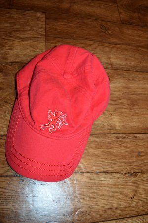edc by Esprit Baseball Cap white-red