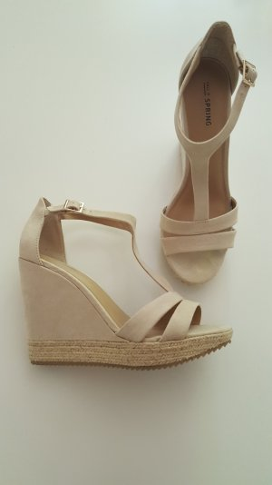 Wedge Sandals oatmeal