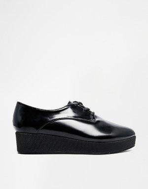 Coole Schuhe  – Spitze Plateauschuhe