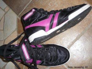 coole Schuhe von GOLA in schwarz/pink