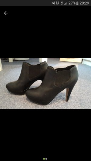 Coole schwarze ankle boots