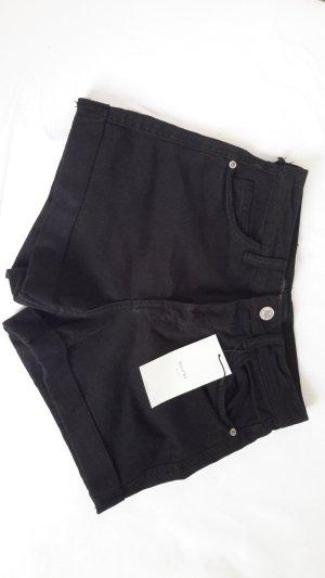 coole schwarze highwaist Hotpants !!!neu!!!