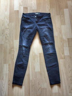 Coole schwarze Skinny-Jeans