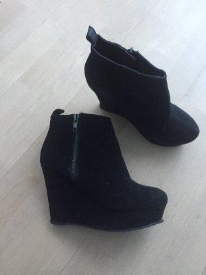 Coole schwarze Stiefeletten