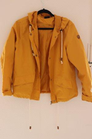 Chubasquero amarillo oscuro-naranja dorado