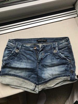 Avant Première Pantaloncino di jeans blu scuro