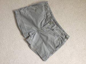 J brand Pantalón corto de tela vaquera gris verdoso